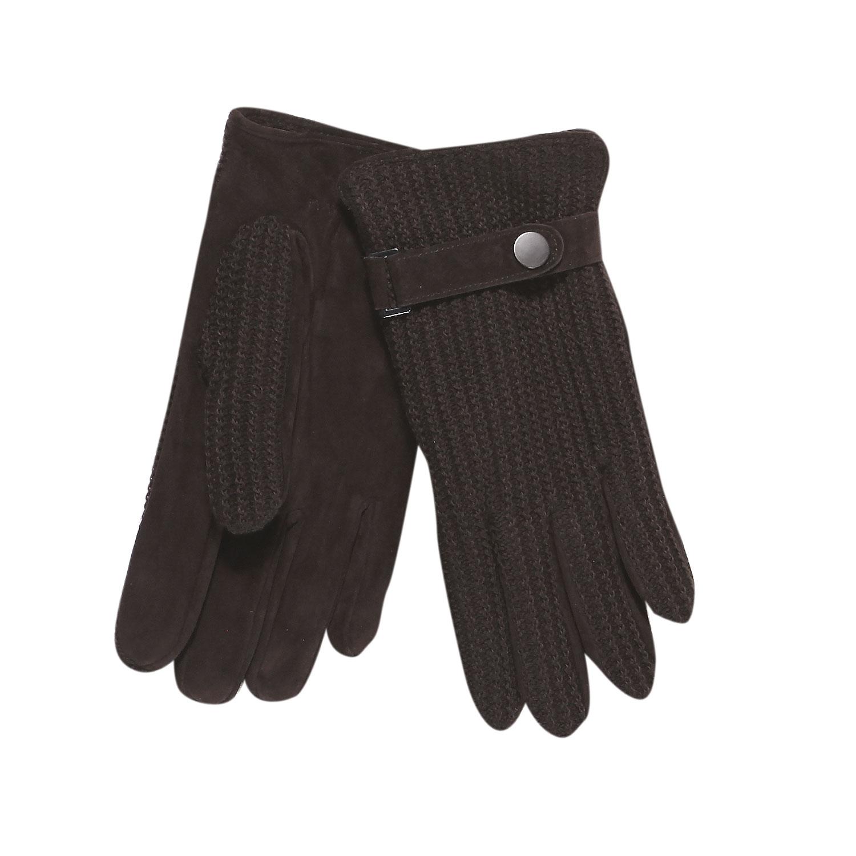 Męskie rękawiczki z dzianiną - 9094295