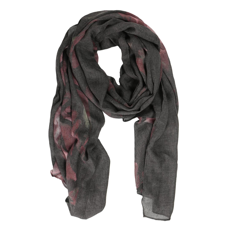 Šátek s jemným potiskem