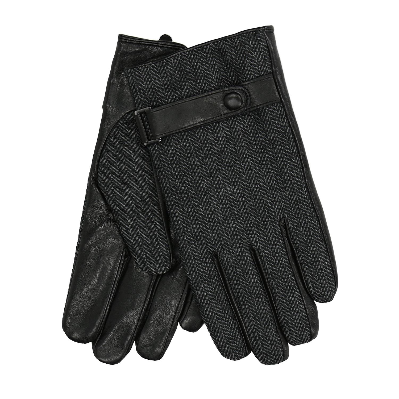 Męskie rękawiczki z paskiem - 9096297