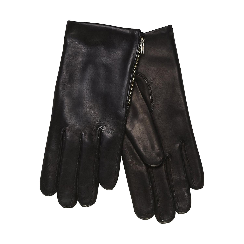 Kožené rukavice se zipem