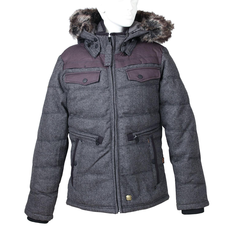 Pánská zimní bunda s kožíškem