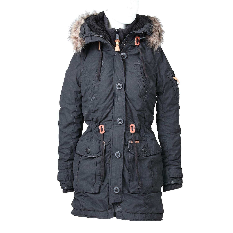Dámská zimní bunda ve stylu Parky