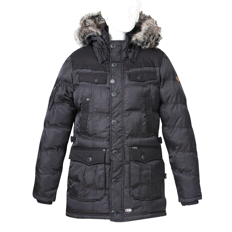 Delší pánská zimní bunda