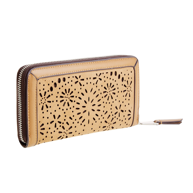 Dámská peněženka s perforací
