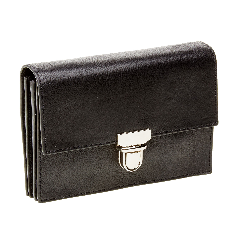 Kožená peněženka s přezkou