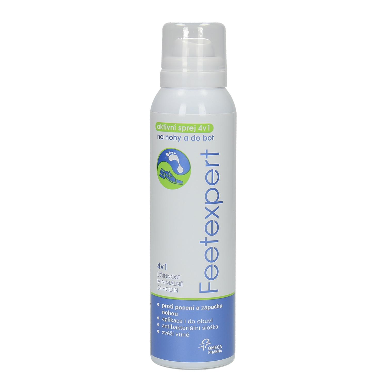 Feetexpert aktywny spray 4w1 do nóg i butów - 9980007