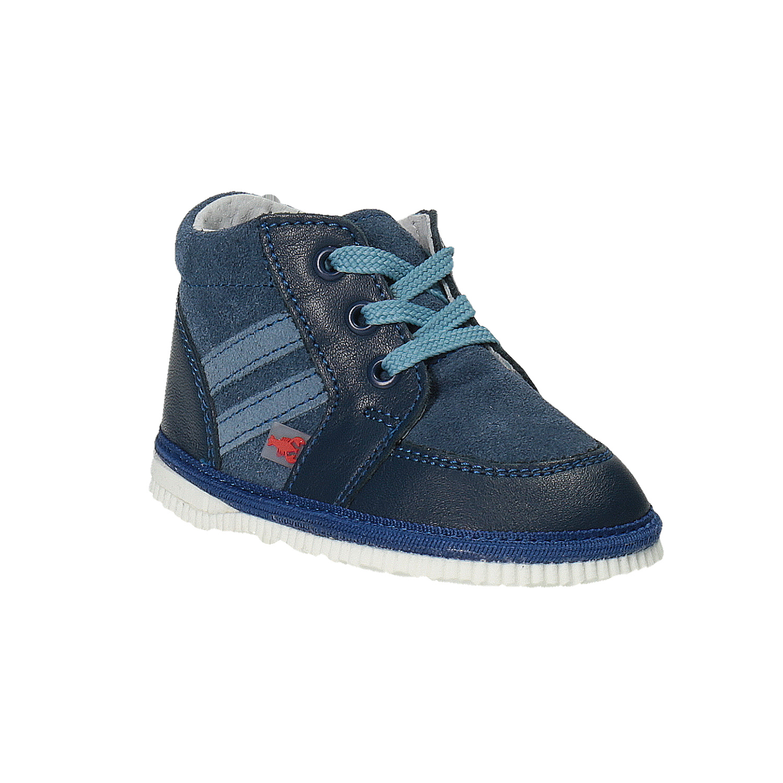 Dětská kožená domácí obuv