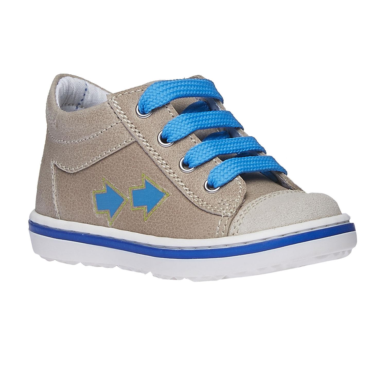 Dziecięce skórzane buty sportowe - 1143146