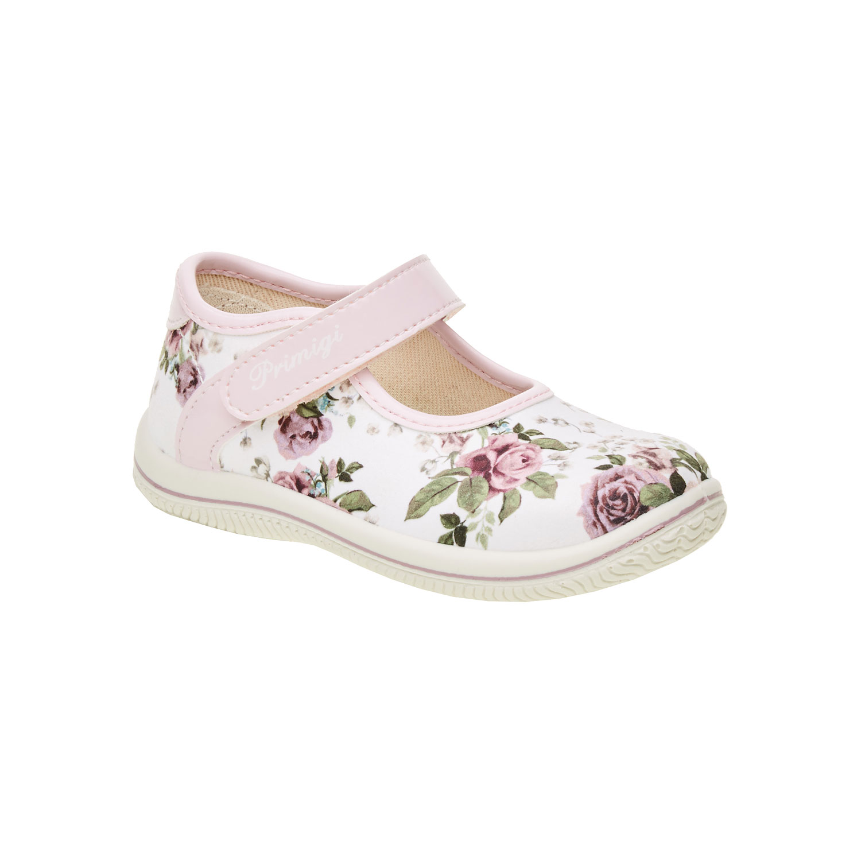 Dívčí boty s potiskem růží