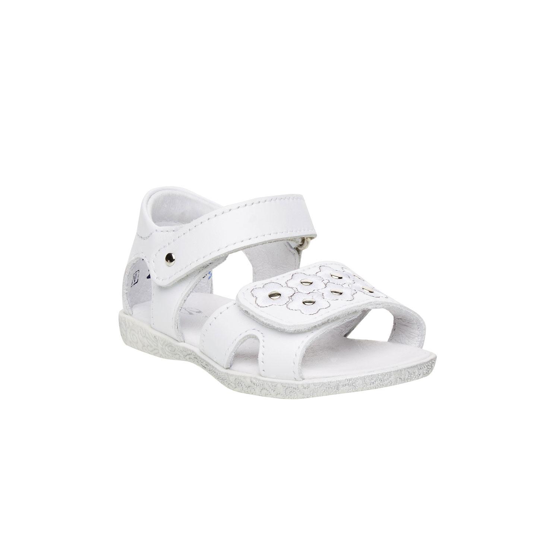 Dívčí kožené sandály