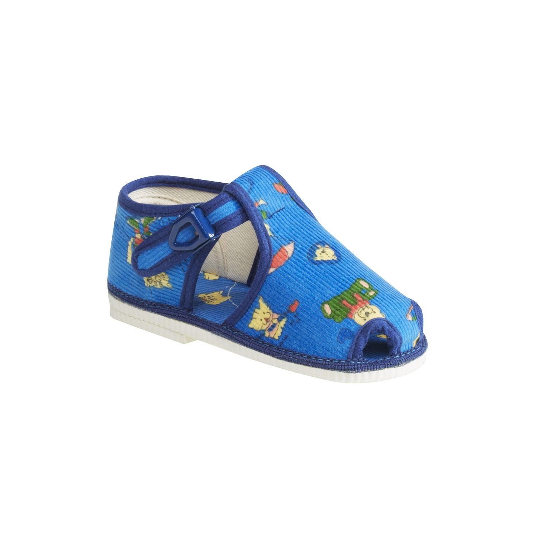 Dětská domácí obuv ke kotníkům
