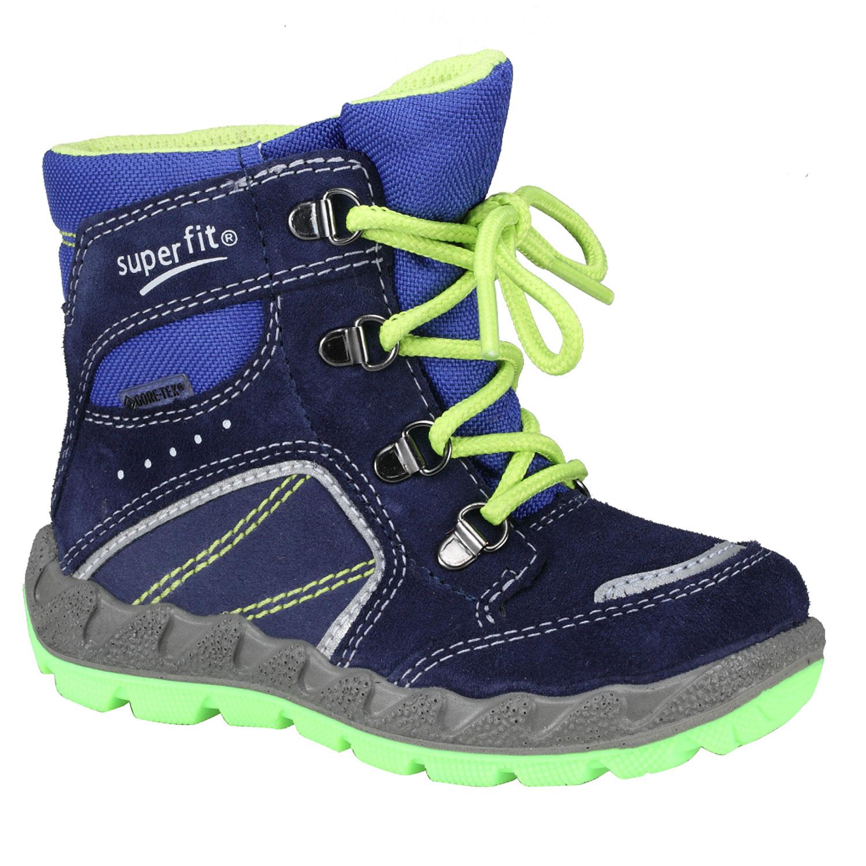 Kotníkové zimní boty šněrovací