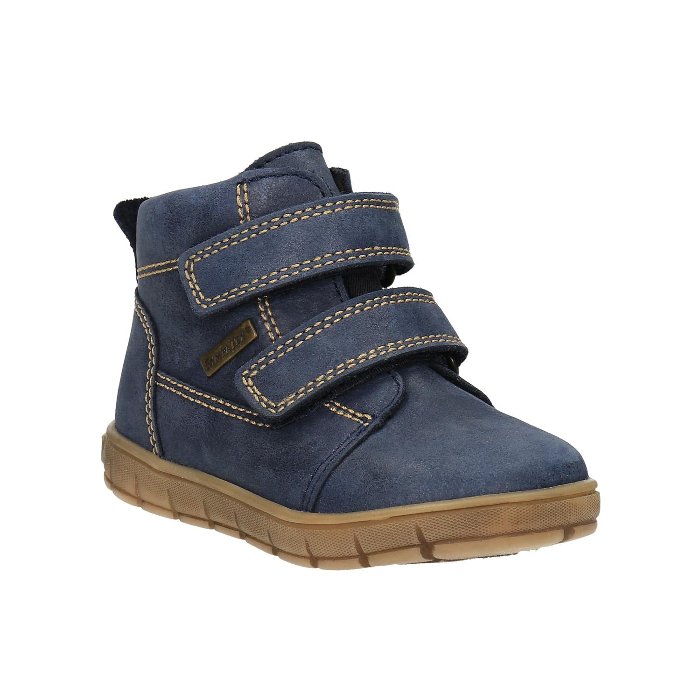 Dětská kožená obuv nad kotníky