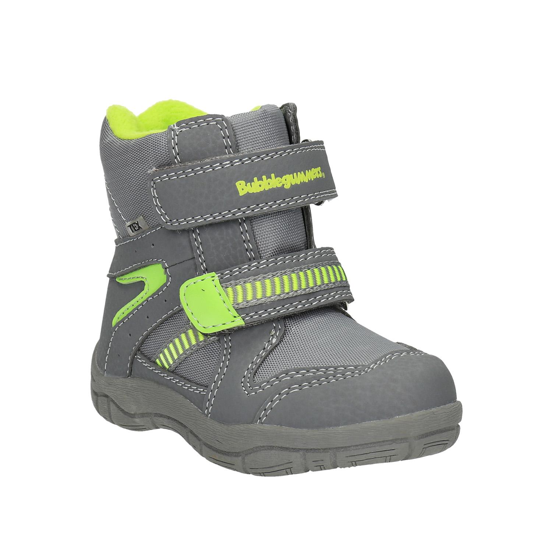 Dětská zimní obuv s reflexními detaily