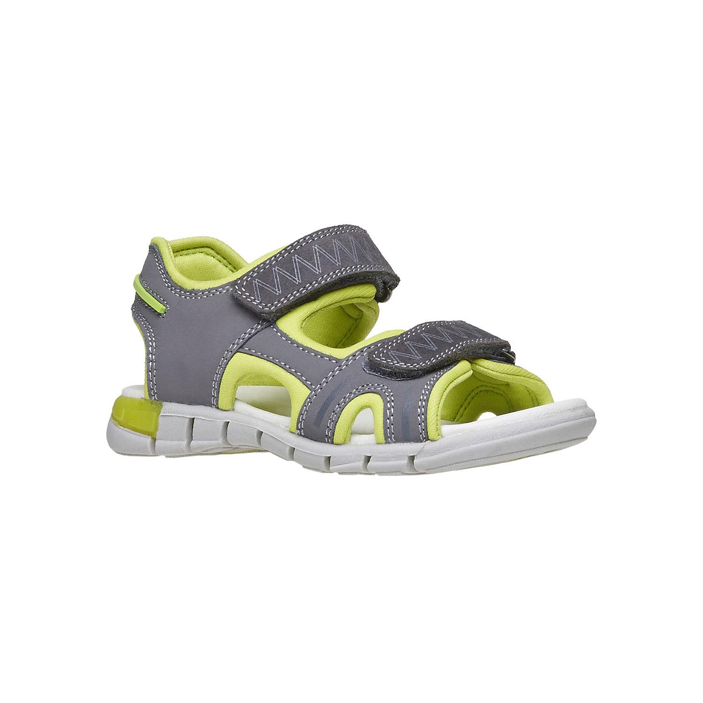 Dětské sandály s koženými pásky