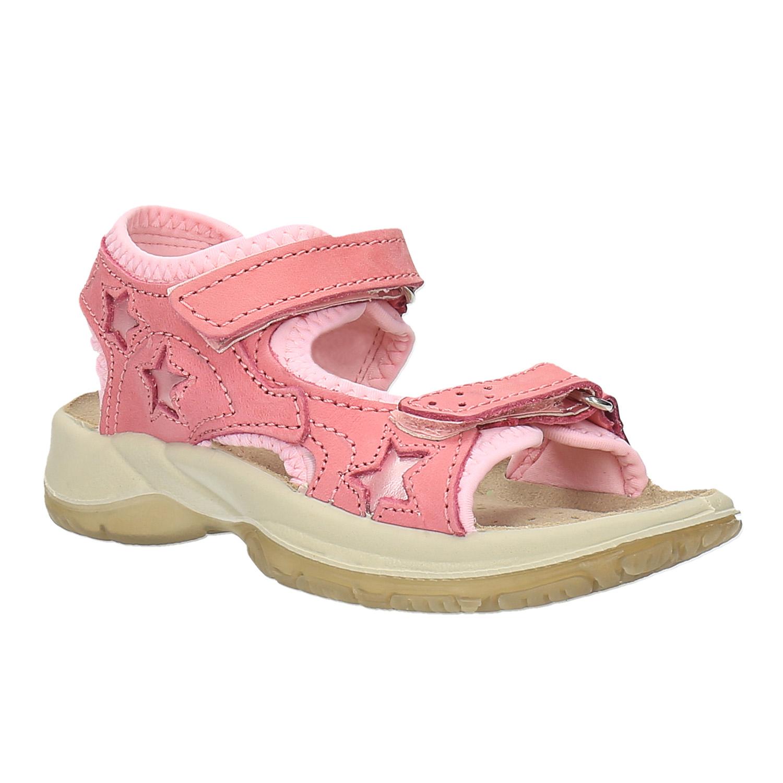 Kožené sandály na suché zipy