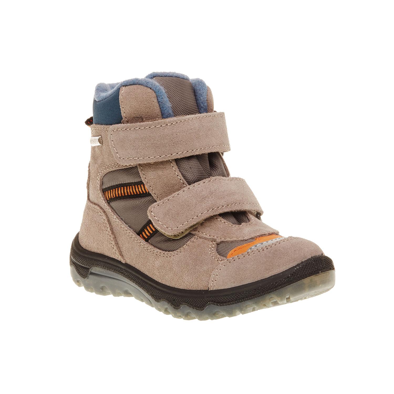 Kožené dětské boty