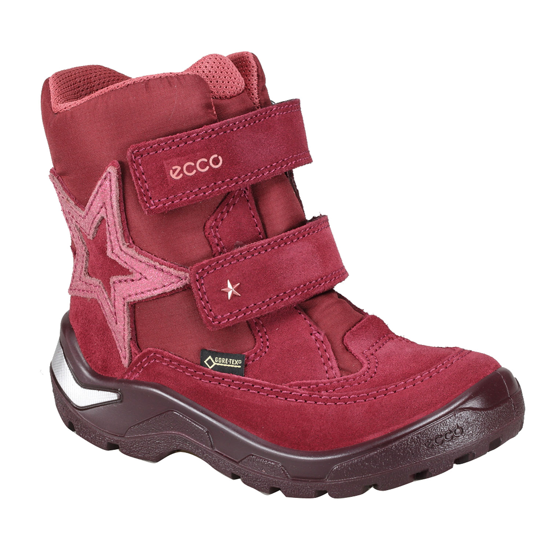 Dětské kožené zimní boty