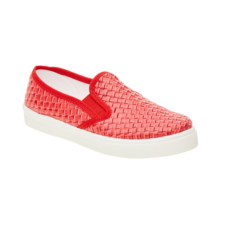 Dziecięce buty Slip On w kolorze czerwonym - 3215186