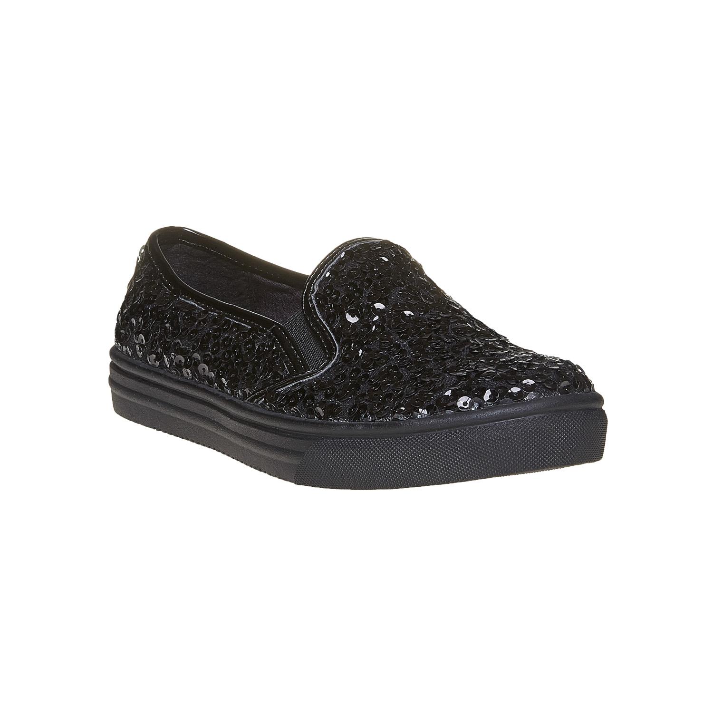 Dziecięce buty Slip-on z cekinami - 3296229
