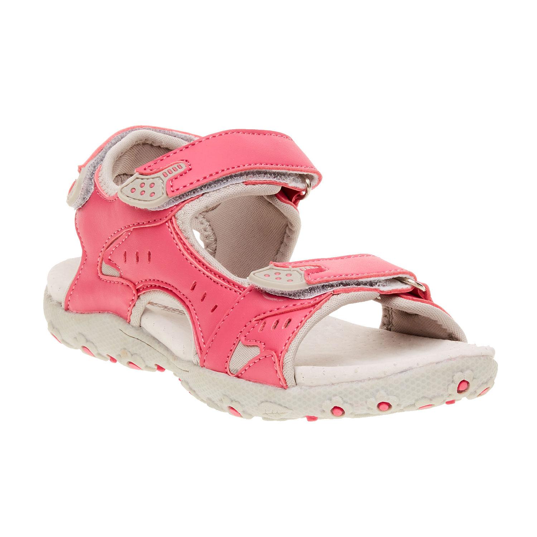 Dziewczęce sandały na rzepy - 3615552