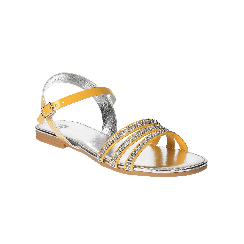 Dívčí sandály s kamínky