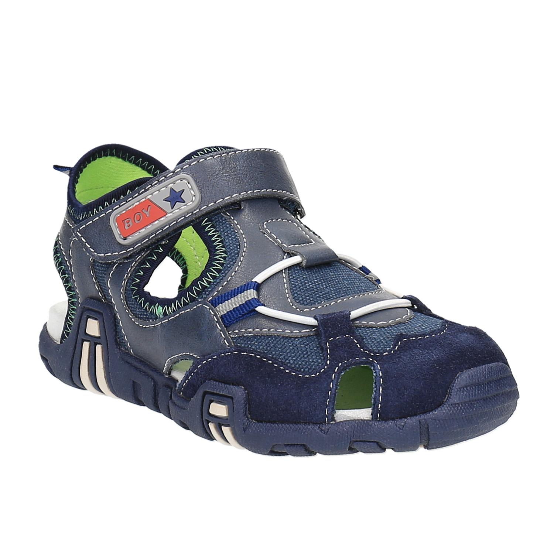 Chlapecké sandály s plnou špičkou