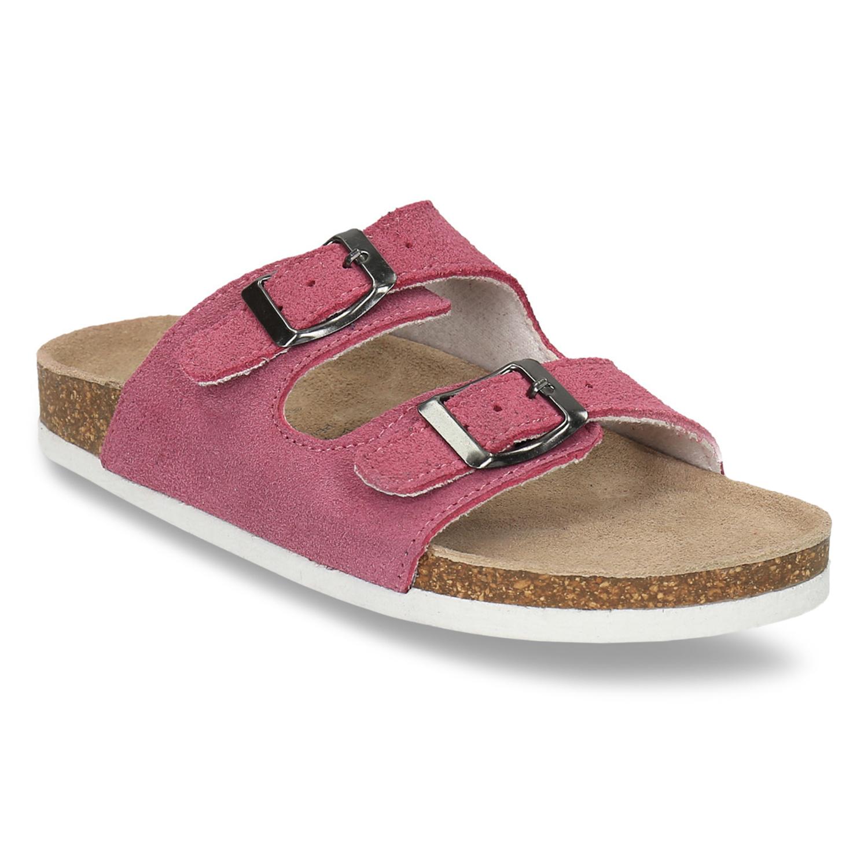 Dětské růžové pantofle