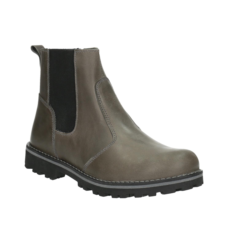 Dětská kožená kotníčková obuv