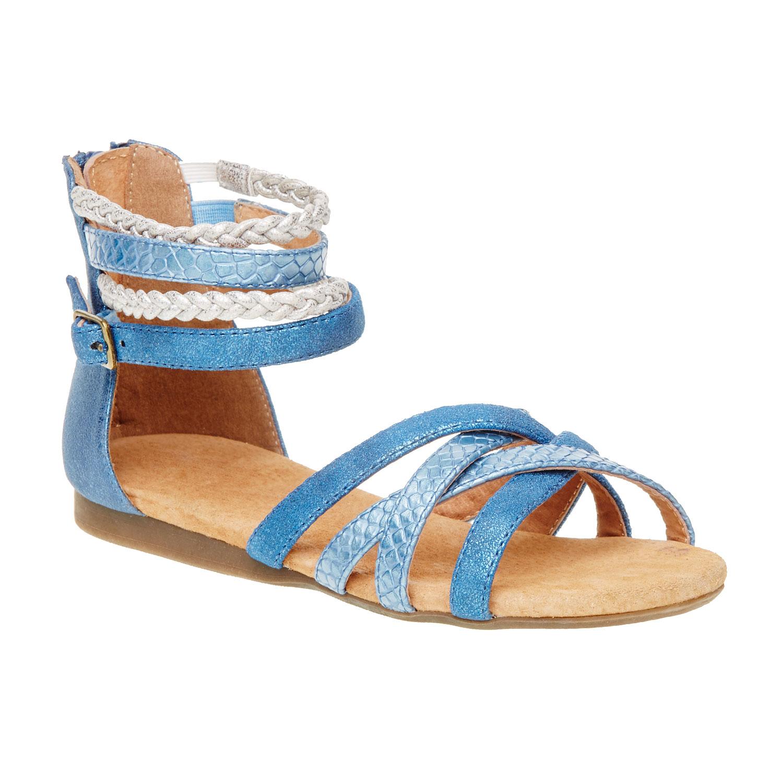 Sandały z paskami wokół kostki - 4619001