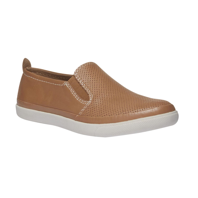 Kožené Plim Soll boty s perforací