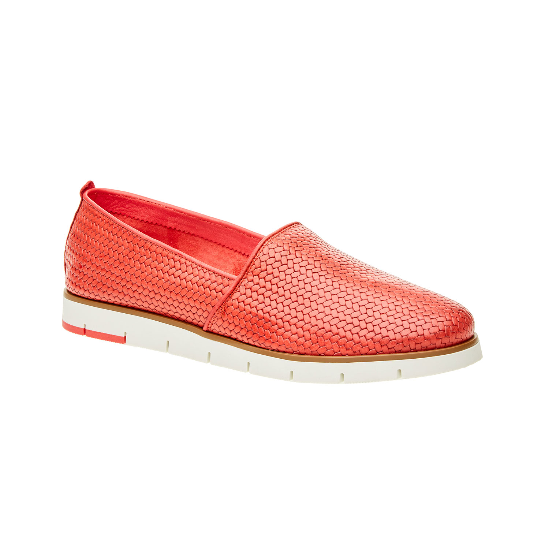 Damskie buty Slip on z plecionym wzorem - 5155203