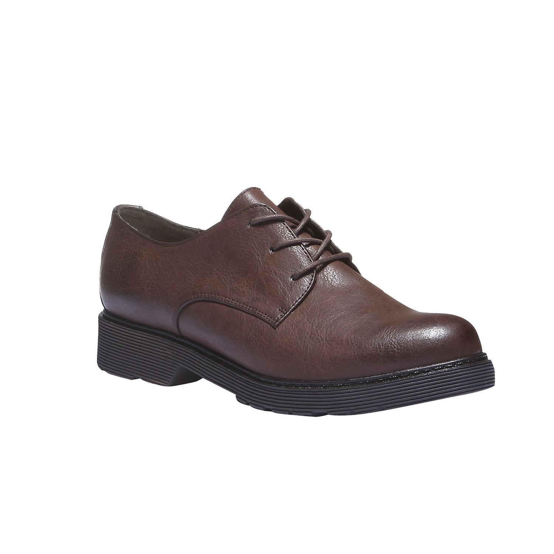 Dámské boty v derby stylu