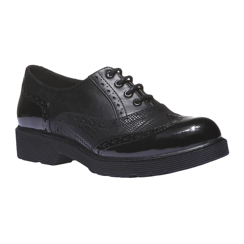 Dámská obuv na masivní podešvi