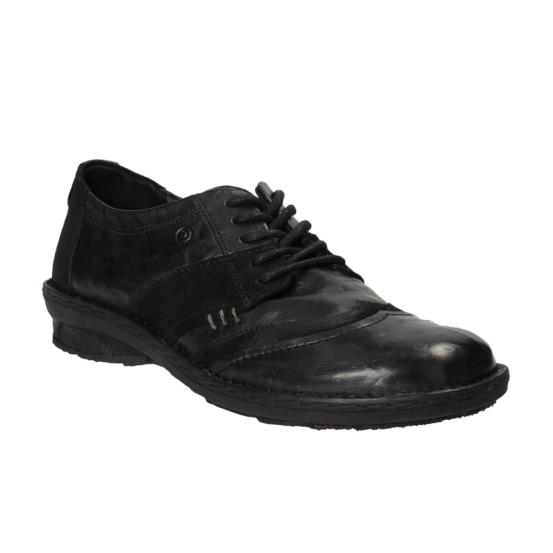Damskie skórzane buty sportowe - 5266601