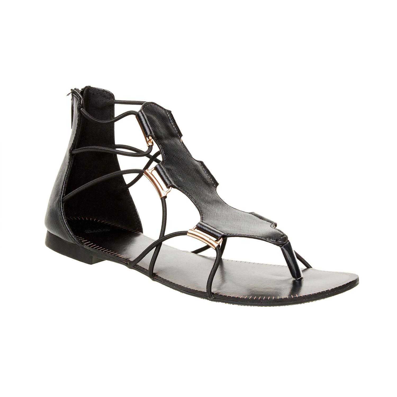 Dámské černé sandály