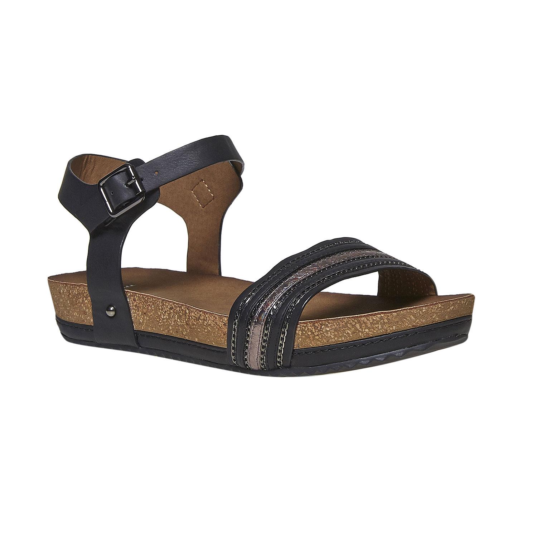 Dámské sandály na výrazné podešvi