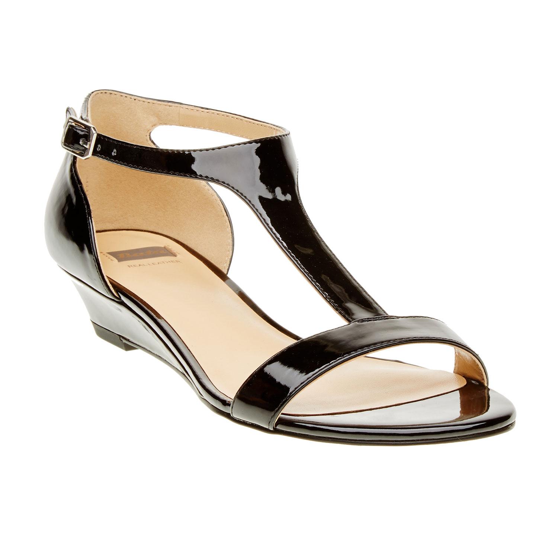 Damskie sandały na koturnie - 5616407