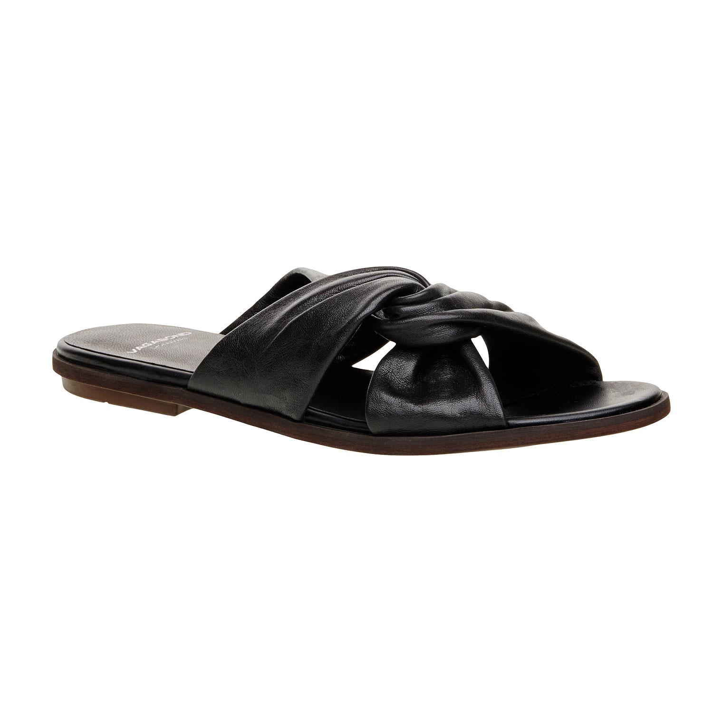 Kožené nazouvací sandály