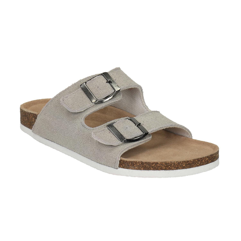 Dámské kožené pantofle