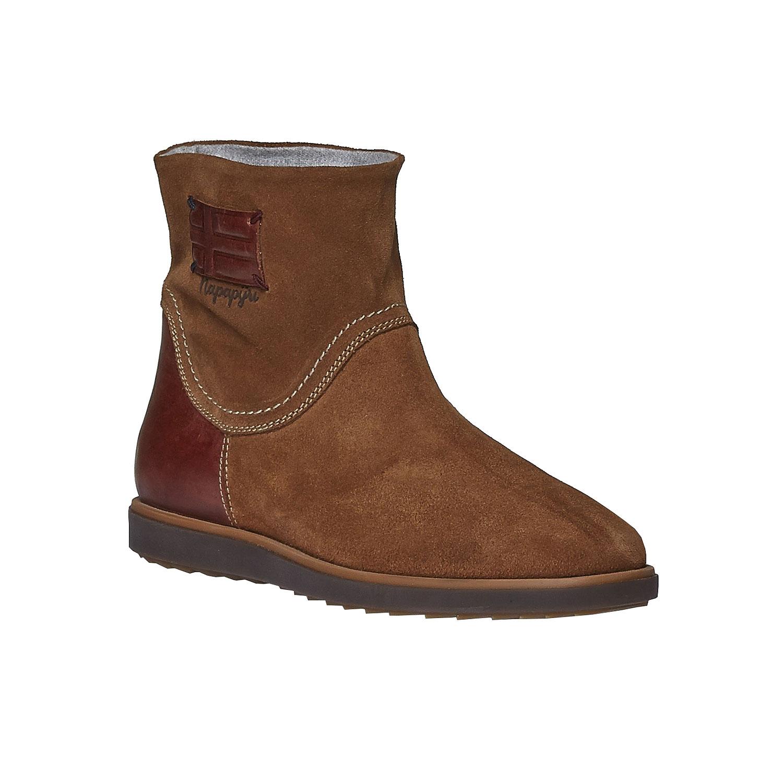 Kožená zimní obuv