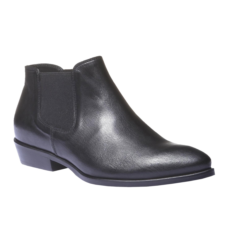 Kožené boty v Chelsea stylu