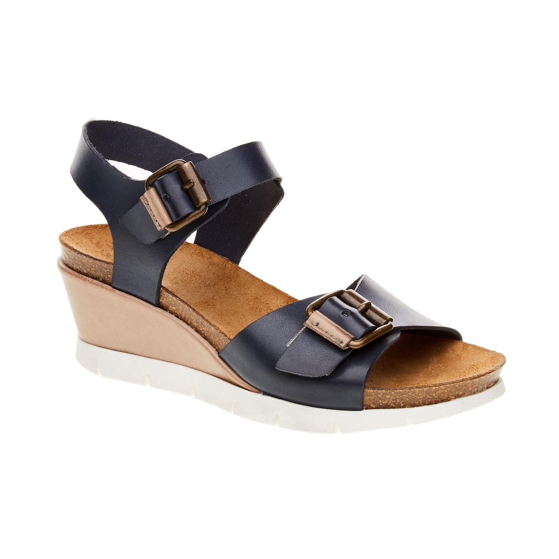 Damskie sandały z paskami - 6649193