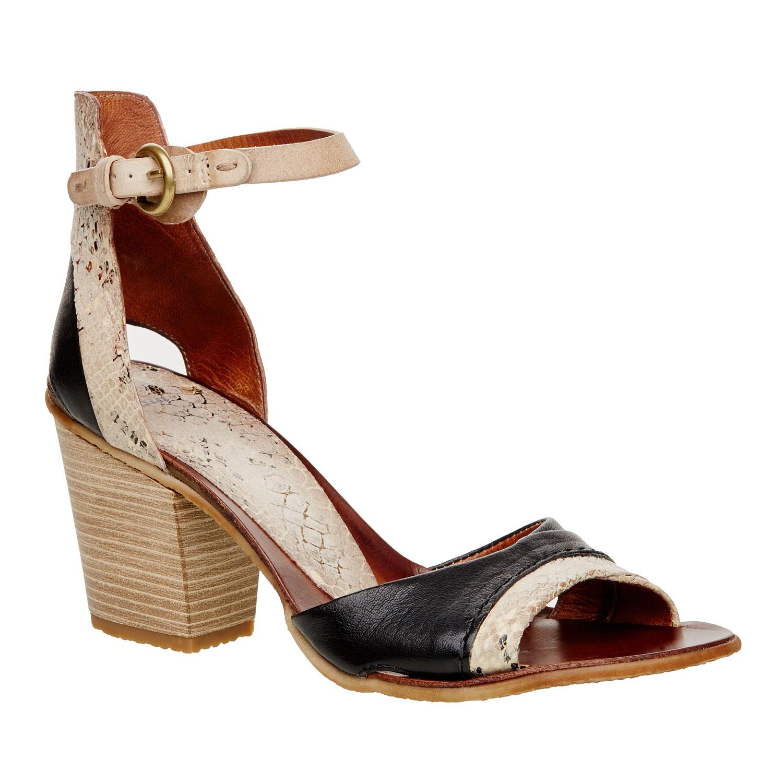 Damskie sandały z paskiem wokół kostki - 6660100
