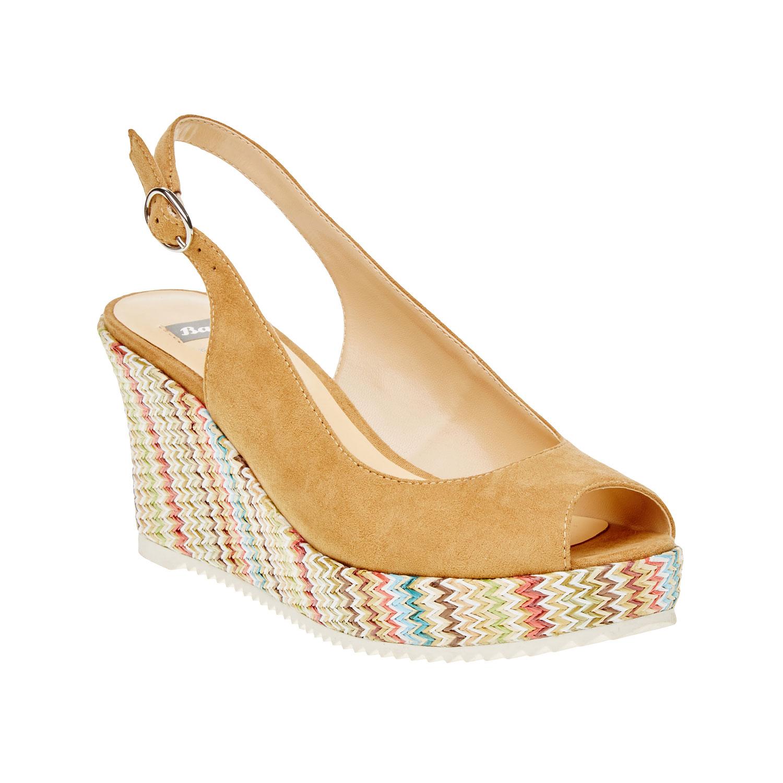 Dámské sandály s plnými boky