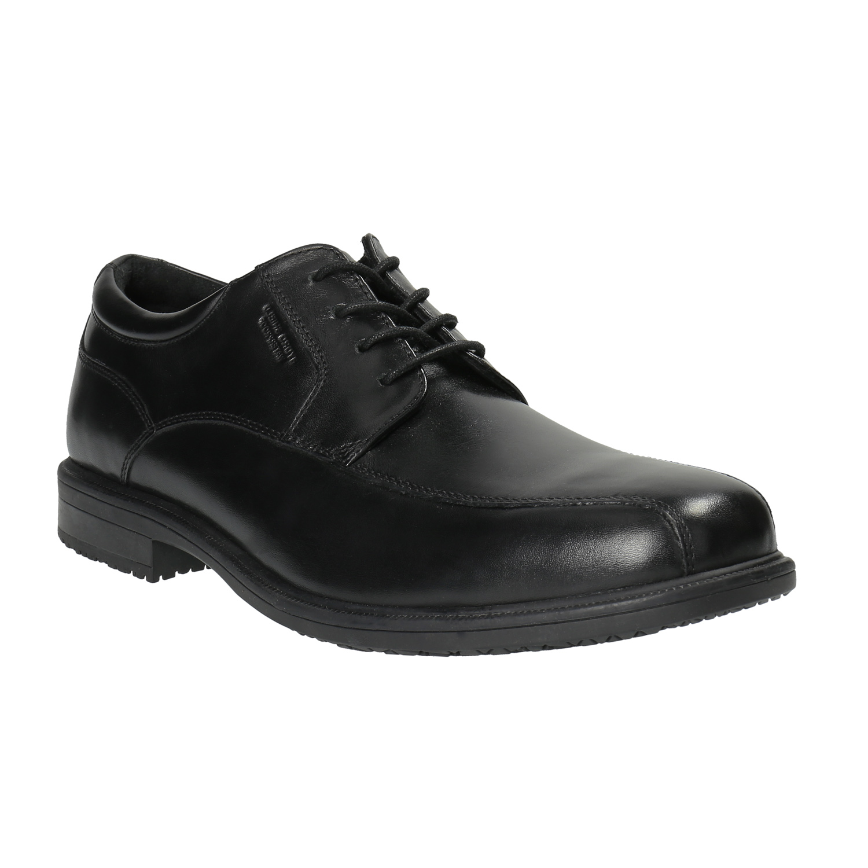 Czarne półbuty męskie - 8246106
