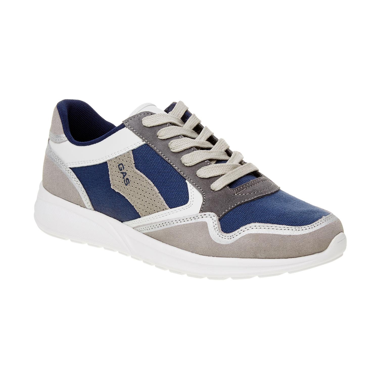 Męskie skórzane buty sportowe - 8439606