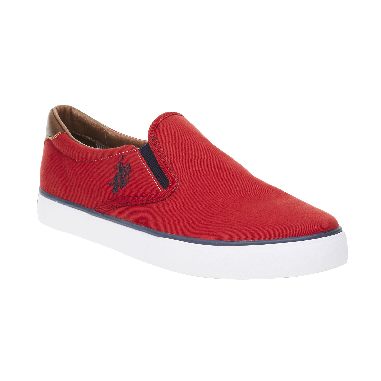 Pánské červené Slip on