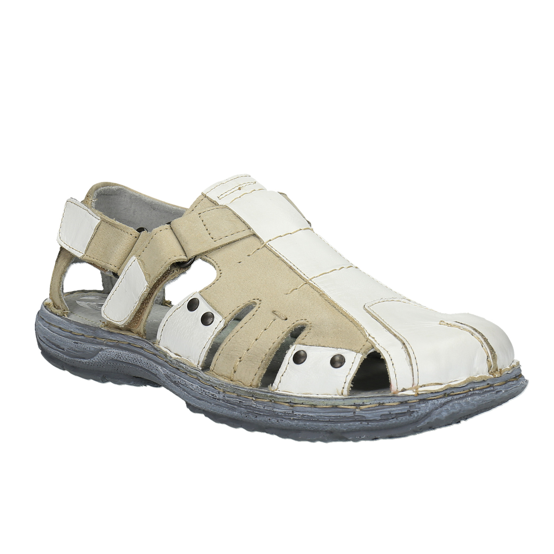 Pánské kožené sandály
