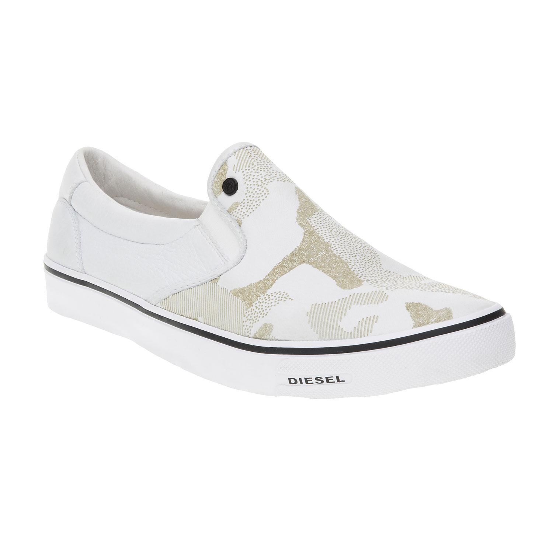 Světlé pánské Slip on boty
